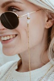 Label Kiki - Dot stripe sunny gold