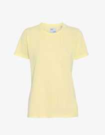 Colorful standard - organic tee soft yellow