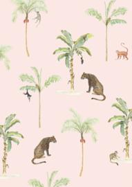 Roze jungle