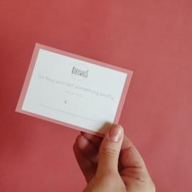 Koekwaus - Giftcard