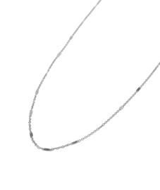 Label Kiki - Spacer Necklace Choker zilver