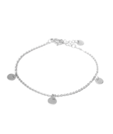 Label Kiki - Label bracelet zilver