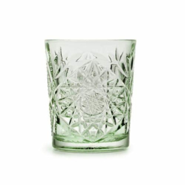 Libbey Hobstar glas - ebony green