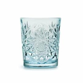 Libbey Hobstar glas - sky blue