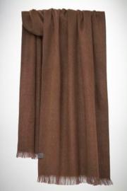 Bufandy - Alpaca sjaal brushed solid - praline