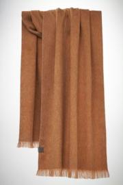 Bufandy - Alpaca sjaal brushed solid - caramel sundae