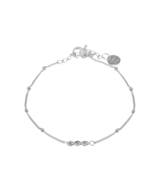 Label Kiki - Triple Eye Bracelet Bracelet zilver
