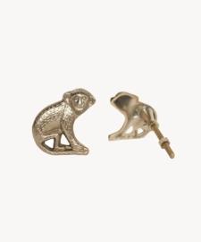 Doing Goods - Peppin monkey deurknop rechts