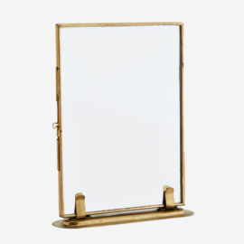 Madam Stoltz - Photo frame on stand gold