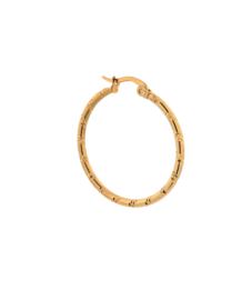 Label Kiki - Single tire hoop goud