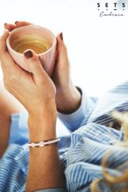 SETS Embrace - Haarelastiek armband - rosie