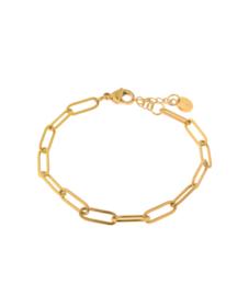 Label Kiki - Hold on bracelet goud