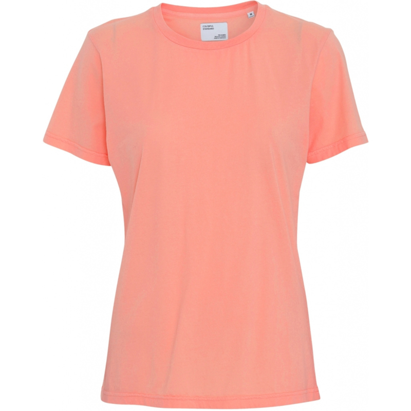 Colorful standard - organic tee bright coral