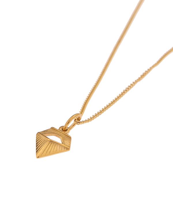 Label Kiki - Diamond necklace goud