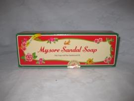 Mysore Sandal 3 in 1, Zeep (3 x 150 Gram)