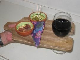 Wijn Snack-plankje