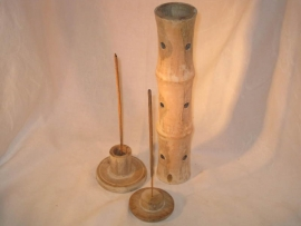 Staande Wierookhouder, Bamboe outlook (3 delig)