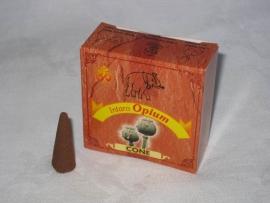 Intaro Kegeltjes, Opium