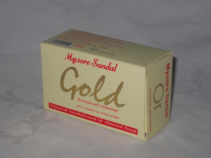Gold, Mysore Sandal Zeep 125 Gram