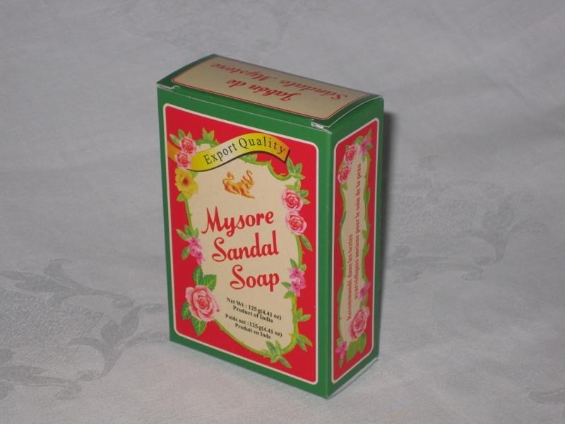 Mysore Sandal, Zeep 125 Gram