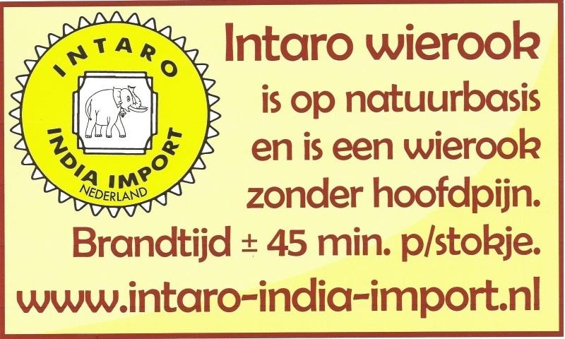 Zie het assortiment Intaro Wierook van Hoogwaardige kwaliteit.