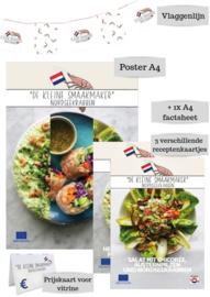 Gratis promotiepakket Hollandse garnaal Duitsland