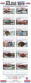 'Vis van de Maand'-kalender 2019