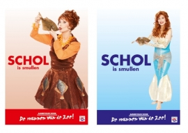Posters schol is smullen