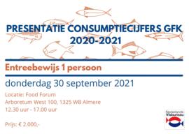 Toegangsbewijs presentatie GfK consumptiecijfers 2021