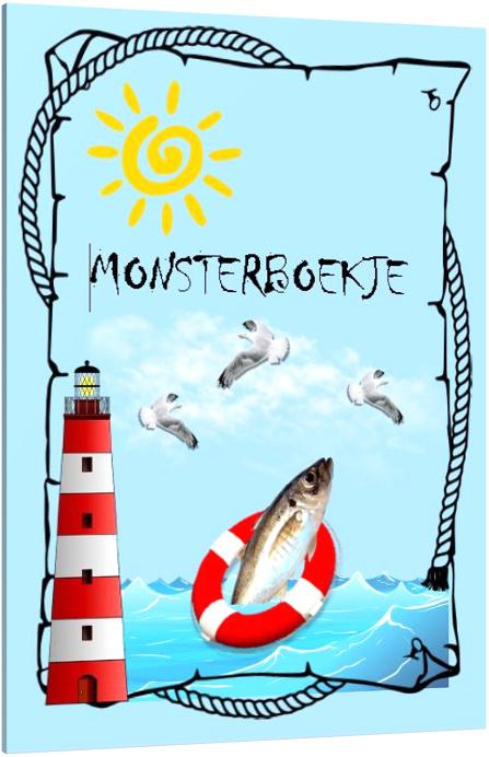 Monsterboekje (25 stuks)