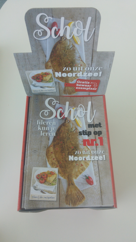 Schol magazine in displaydoos