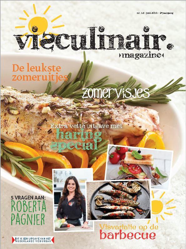 Visculinair magazine 3 uitgaven (jaargang 2016)
