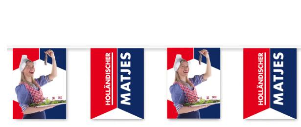 Flaggenlinie 'Holländischer Matjes'