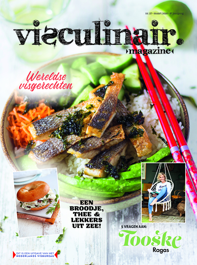Visculinair magazine voorjaarseditie 2020