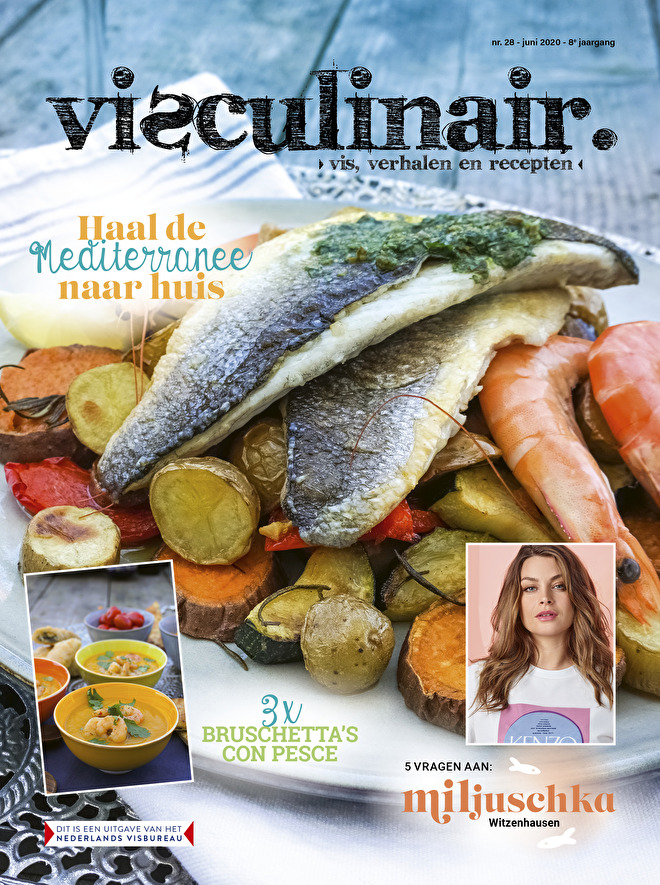 Visculinair magazine zomereditie 2020