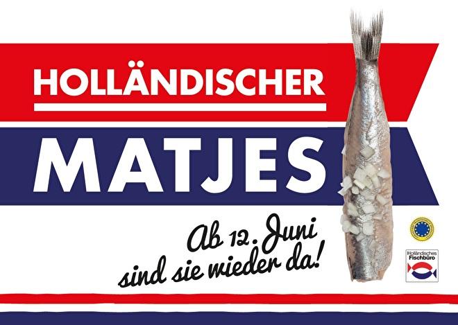 'Holländischer Matjes' promotiemateriaal