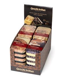Matller - Pure Chocolade 70% Bloemblaadjes 30 gram