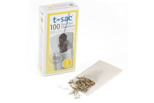 Theefilter t-sac® kopje/glas maat 1