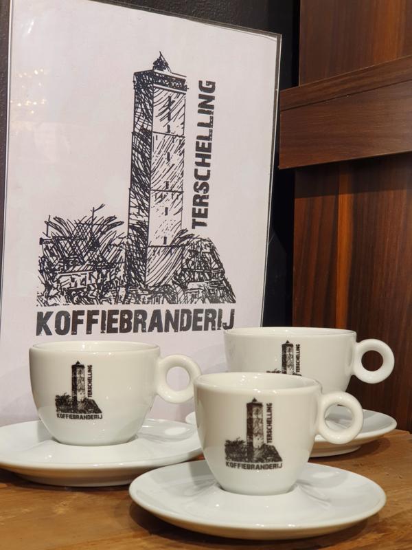 Koffieservies Koffiebranderij Terschelling
