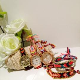 Ibiza horloge set /UITVERKOCHT