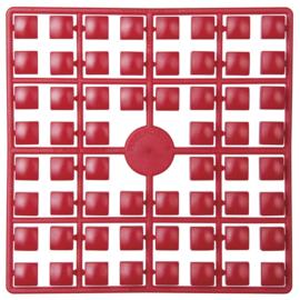 Pixelmatje XL - kleur rood (306)