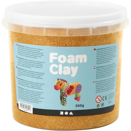 Foam Clay Metallic - Goud - 560 gram