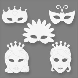 16 Sprookjesmaskers van Papier