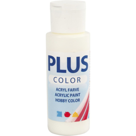 Plus Color Acrylverf Off Whit 60 ml