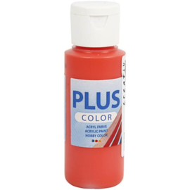 Plus Color Acrylverf Brilliant Red 60 ml