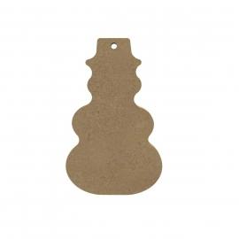 MDF Sneeuwpop 10 cm