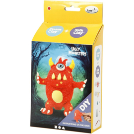 Funny Friends - Rood Monster Foam Clay Set