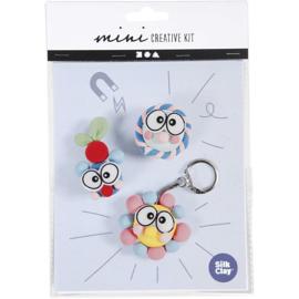 Mini Knutselset Silk Clay Sleutelhanger en Magneet