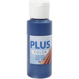 Plus Color Acrylverf Marine Blauw 60 ml