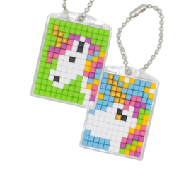 Knutselidee: Zelf Pixelhobby Sleutelhanger maken